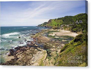 Devil's Punchbowl Canvas Print by Andrew Serff