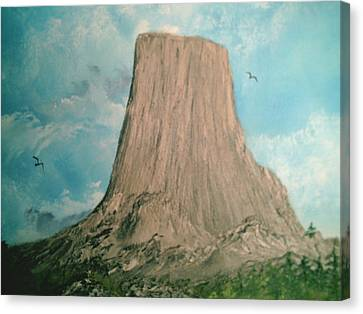 Devils Tower 2 Canvas Print
