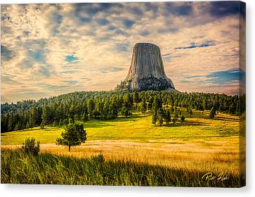 Devil's Tower - The Other Side Canvas Print