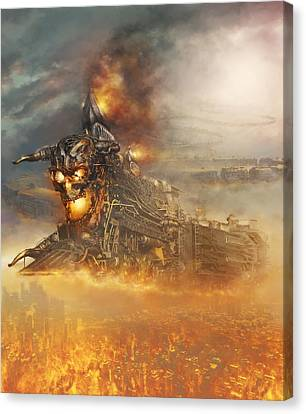Devils Train 2 Canvas Print