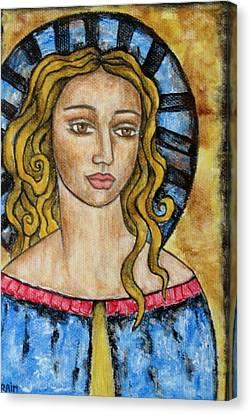 Devonee Canvas Print by Rain Ririn