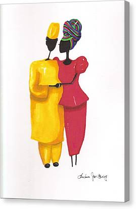 Devotion Canvas Print by Bee Jay