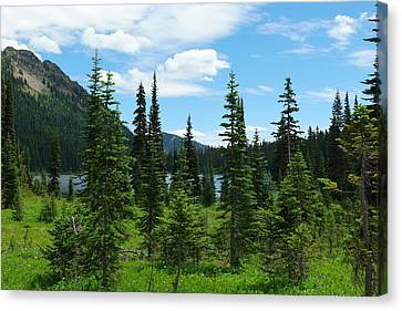 Dewey Lake Canvas Print