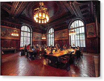 Dewitt Wallace Periodical Room Canvas Print by Jessica Jenney