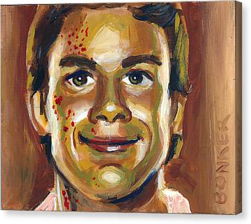 Dexter Canvas Print by Buffalo Bonker