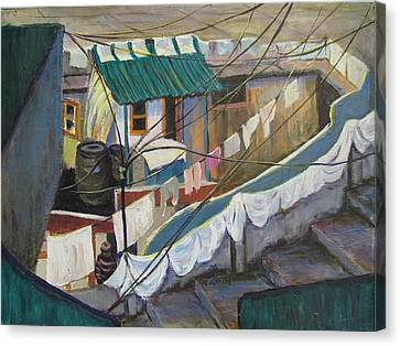 Dhobi Canvas Print