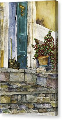 Di Gatto Canvas Print
