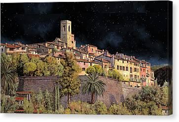 di notte a St Paul Canvas Print