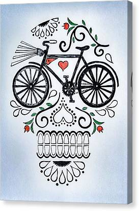 Muertocicleta Canvas Print by John Parish