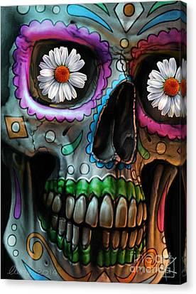 Dia De Los Muertos Canvas Print by Andre Koekemoer