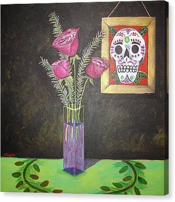 Dia De Los Muertos I Canvas Print