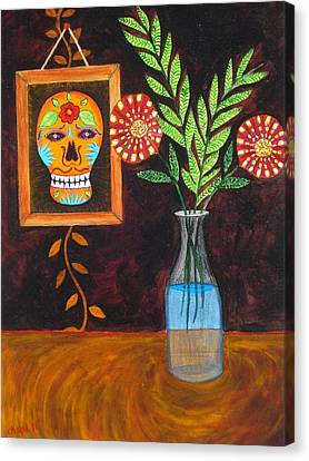 Dia De Los Muertos II Canvas Print