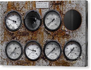 Dials Canvas Print by Svetlana Sewell