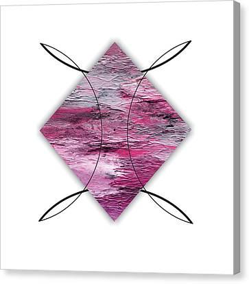 Colorful Canvas Print - Diamond 3 by Brian Allan