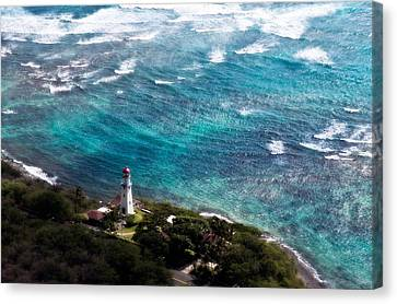Diamond Head Lighthouse Canvas Print