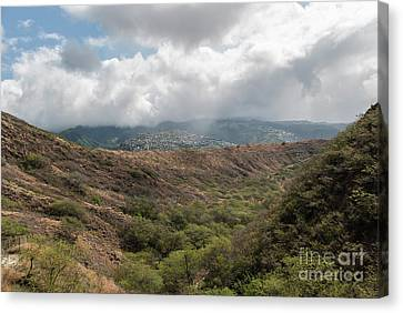 Diamond Head View Canvas Print