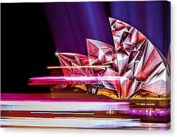 Diamond Sails Canvas Print by Az Jackson
