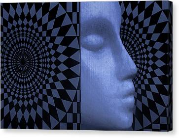 Canvas Print featuring the photograph Diamond Shadow 1 by Jeff  Gettis