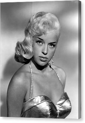 Diana Dors, Universal Pictures Canvas Print by Everett