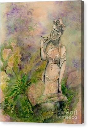 Bodhisattva Canvas Print - Diana's Garden by Amy Kirkpatrick