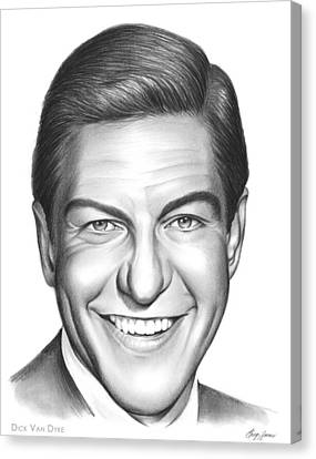Dick Van Dyke Canvas Print by Greg Joens