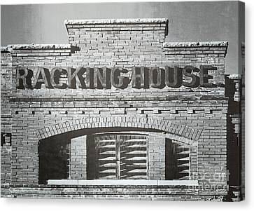 Dick's Brewery-historical Architecture  Canvas Print by Luther Fine Art