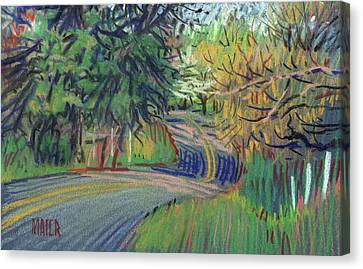 Dickson Road Canvas Print by Donald Maier
