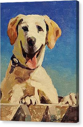 Did Someone Say Treat? Canvas Print