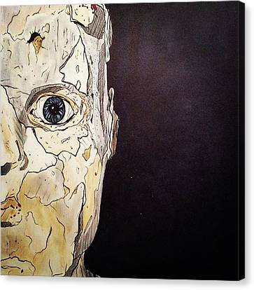 Canvas Print - Did You Realize No One Can See Inside Your View by Russell Boyle