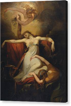 Dido  Canvas Print by Henry Fuseli
