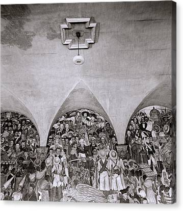 Diego Rivera Canvas Print by Shaun Higson
