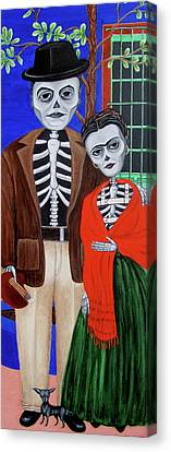 Diego Y Frida Canvas Print
