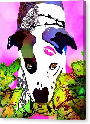Diesel  Canvas Print by Cindy Edwards