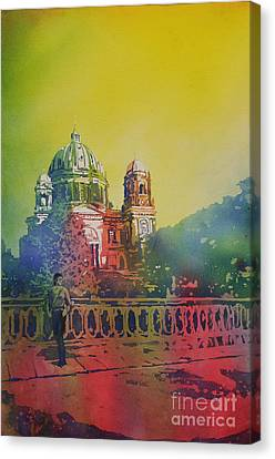Different Look On The Berlin Cathedral Canvas Print
