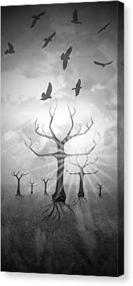 Digital-art Fantasy Landscape II Canvas Print