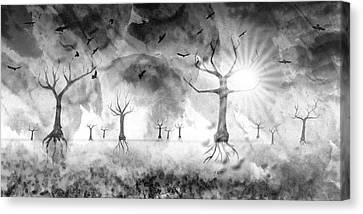 Digital-art Fantasy Landscape IIi Canvas Print
