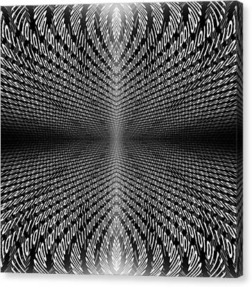 Digital Divide Vortex Canvas Print by Gordon Dean II