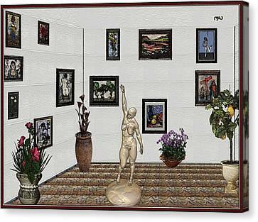Digital Exhibition 17 Canvas Print by Pemaro