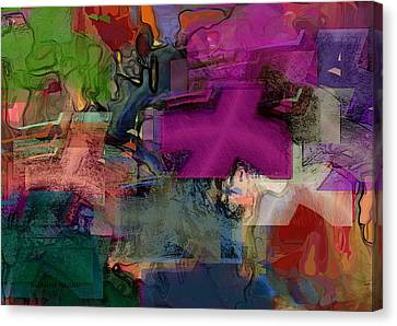 Digital Fun No.1 Canvas Print
