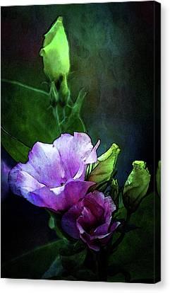 Digital Watercolor Elegance 3700 W_2 Canvas Print