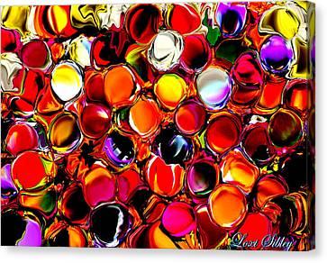 Digital2012b Canvas Print by Loxi Sibley