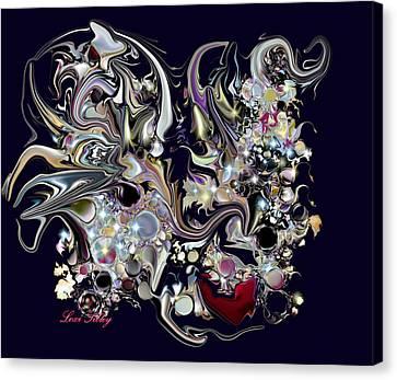 Digitalimage2012c Canvas Print by Loxi Sibley