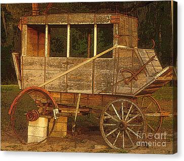Dilapidated Canvas Print by David Lee Thompson