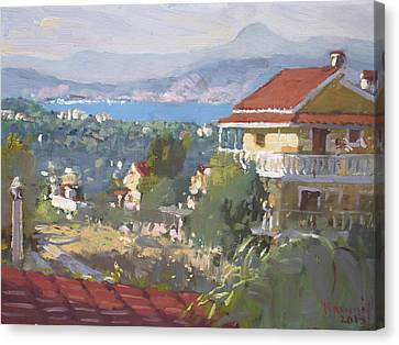 Dilesi Athens Canvas Print by Ylli Haruni
