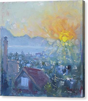 Athens Canvas Print - Dilesi In A Brand New Day  by Ylli Haruni