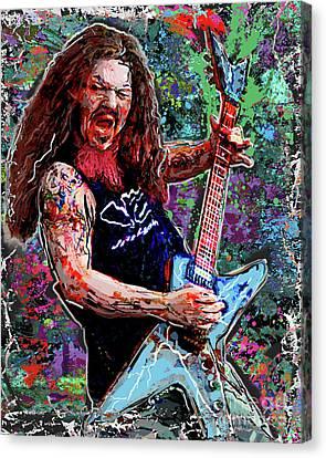 Dimebag Darrell Art, Pantera Canvas Print