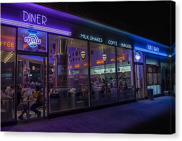Diner - Fast Food Canvas Print