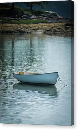Canvas Print featuring the photograph Dinghy by Guy Whiteley
