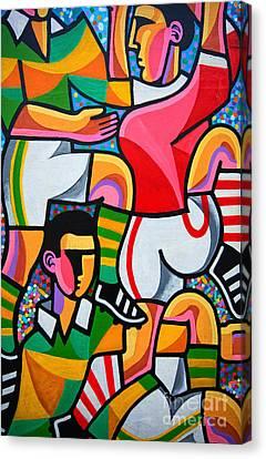 Dingle Wallart Canvas Print by Nichola Denny
