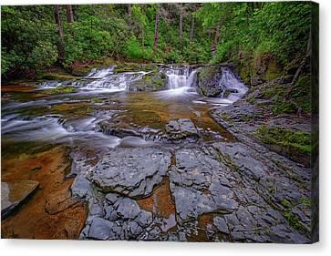 Northeastern Canvas Print - Dingmans Creek II by Rick Berk